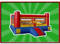 Boxing Ring with Gloves