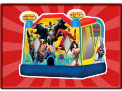 Super Hero Bounce with Water or Dry Slide