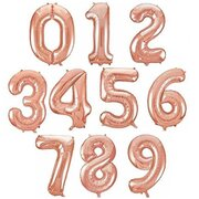 Mylar Helium Numbers, Letters and Super Shapes Balloon