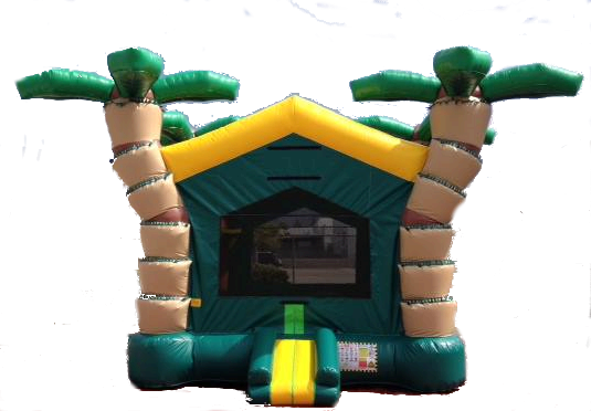 3D Tropical Bounce House