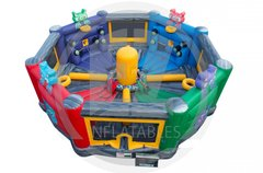 2 in 1 Galaxy Games Hungry Hippo - Tug & Dunk
