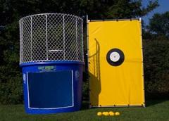 Dunk tank with window (500 gallons)