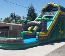 Tropical water slide 18 feet