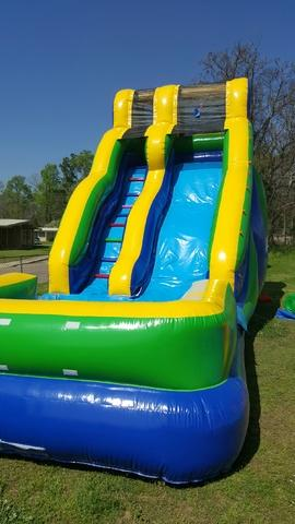 18 ft Wildin Wave Slide(Requires Large Inflatable Delivery Fee)