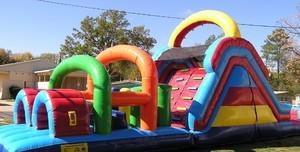40ft Wet/Dry Obstacle Course  Requires Large Inflatable Delivery