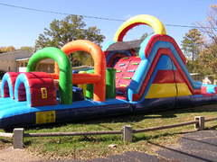 40ft Giant Obstacle Course - Requires Large Delivery