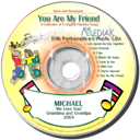 You are my Friend Personalized CD