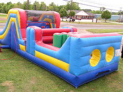 Obstacle Course with Slide  33 Long