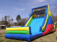 Rockwall Dry Slide Requires Large Inflatable Delivery