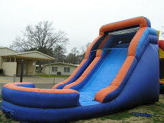 14' Water Slide w Full Pool