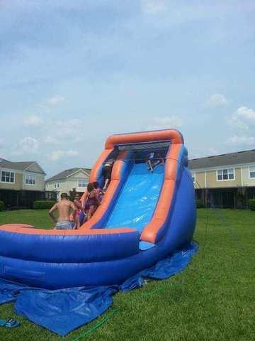 16ft. Slick Water Slide