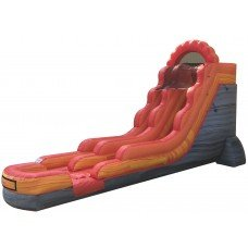 18ft. Lava rush Water Slide