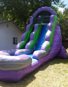 18ft. Purple Marble Water Slide