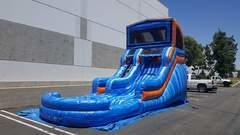 15ft. Blue Crush Water Slide