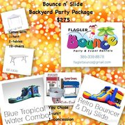 Bounce & Slide Party Package