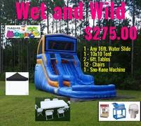 Wet & Wild Party Package