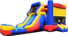 Retro Bouncer & Wet Slide