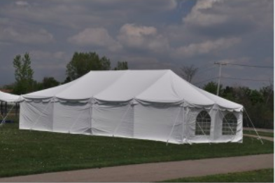 20' x 40' Tent with Sidewalls