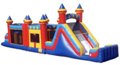 52 ft Royal Bounce Obstacle Course