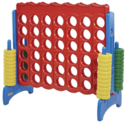 Giant Connect Four Red/Blue