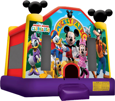 Mickey Park Bouncer Rental