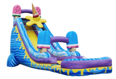 I-Scream 24 ft Jumbo Water Slide w/ Pool -New!