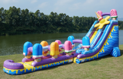 I-Scream 24 ft Jumbo Water Slide w/ Slip & Slide - New!