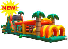 Jungle Jam 60'L Obstacle Course