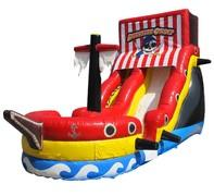 Pirates Buccaneer Slide with Pool