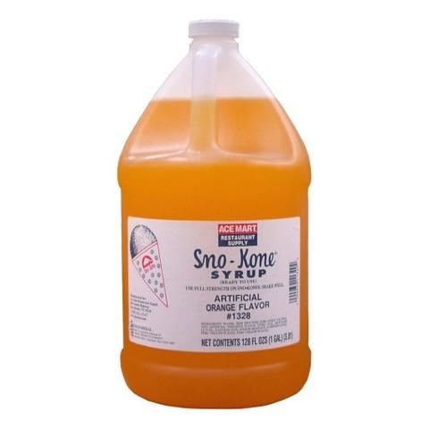 Snow-cone Syrup set, ORANGE