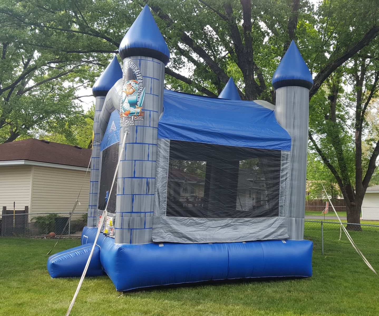 Laughs-A-Lot Bounce House side view