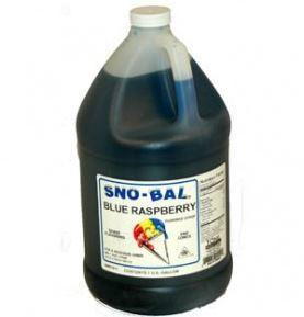 Sno Cone Gallon - Blue Raspberry