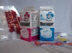 Cotton Candy Flossugar Package (two cartons) & 100 Cotton Candy Bags