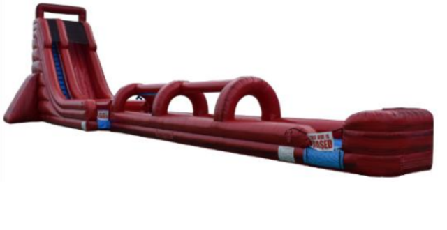 27' Lava Screamer Water Slide W/Slip & Slide Ending