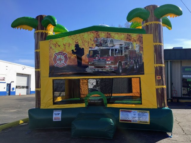 Firefighter XL Bounce House