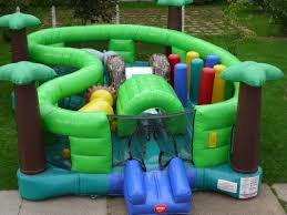 Jungle Inflatable Playland - Inflatable Play Area