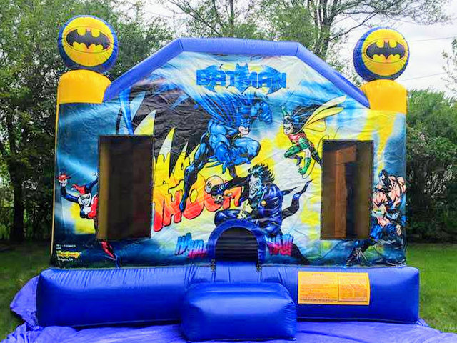 XL Batman Licensed Bounce House