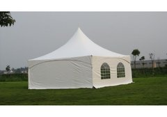 20x20 High Peak Frame Tent With 1-4 Sidewalls