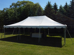 20x30 Pole Tent Package for 75