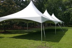 20x60 High Peak Frame Tent Package for 150