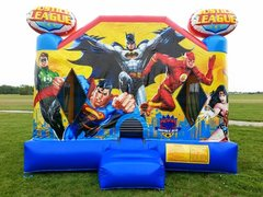 XL Justice League Bounce House