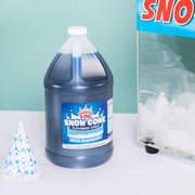Blue Raspberry Snow Cone Syrup and Cups