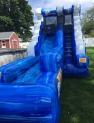 BRAND NEW!  Blue Splash Water Slide