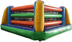New! 2 in1 Boxing Ring and Bounce