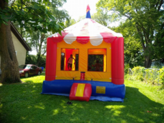 Large High Top Circus Bounce House