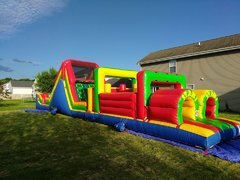55 ft Obstacle Course