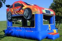 $̶1̶4̶9̶.̶9̶9̶ Hot Deal Only $119 Race Car Bounce House