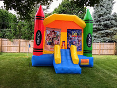 Toy Story Large Bounce House With Basketball Hoop