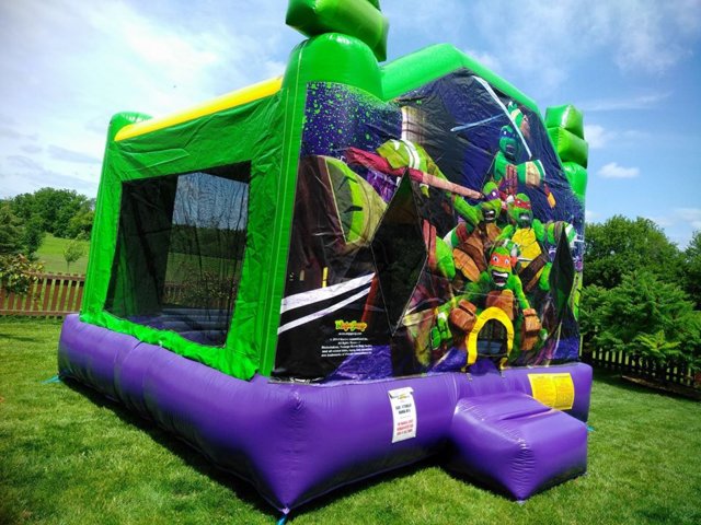 Ninja Turtles XL Bounce House