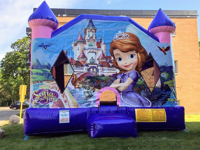 XL Sofia The First Bounce House